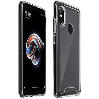 Cristal Series cas, hybride backcover pour romaric Redmi Note 5 - Ultra clear
