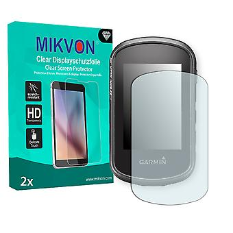 Garmin eTrex Touch 25 Screen Protector - Mikvon Clear (Retail Package with accessories)