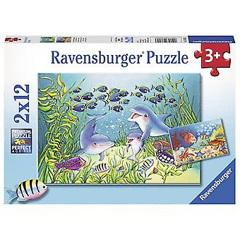 Ravensburger puzzel- Op de bodem van de