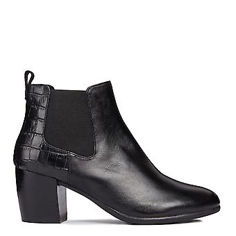 Geox Womens/Ladies Lucinda Leather Ankle Boot