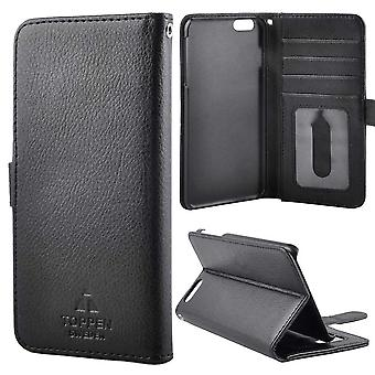 The TOP Left-handed wallet pouch iPhone 6S Plus, Black