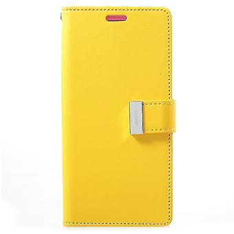Mercure GOOSPERY Rich Diary S9 Samsung Galaxy Plus-jaune