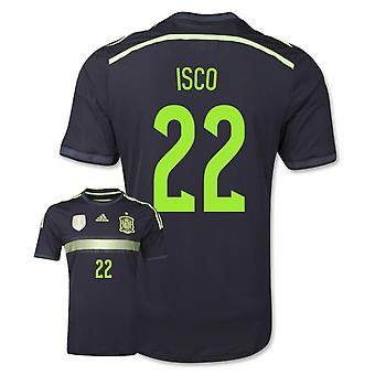 2014-15 Spanje weg World Cup Shirt (Isco 22)