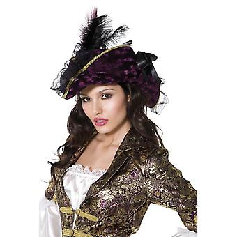 Fever Marauding Pirate Hat, Purple, One Size