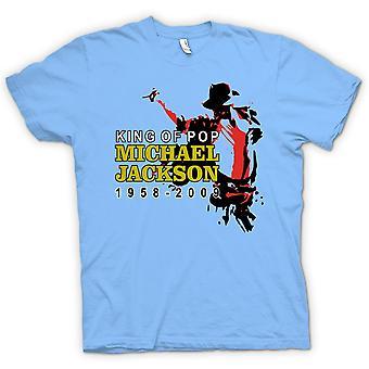 Mens t-skjorte - Michael Jackson kongen av Pop - ny