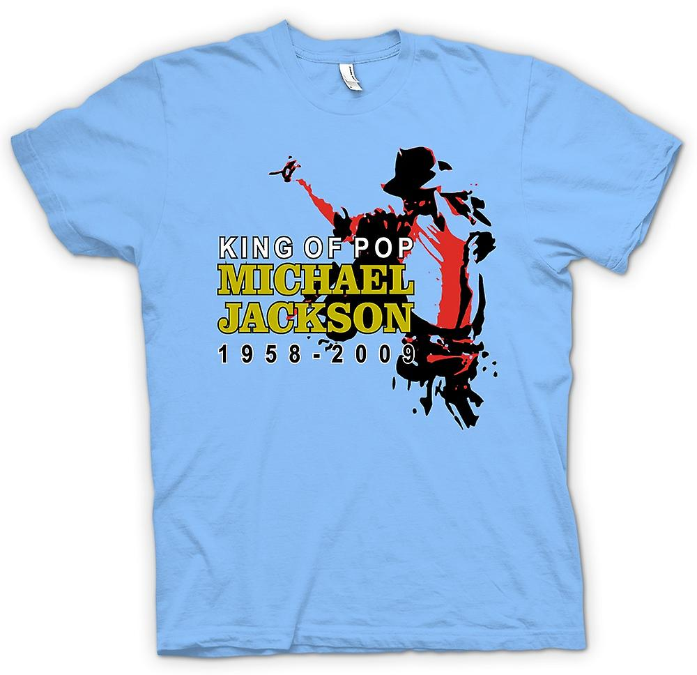 Mens T-shirt - Michael Jackson King Of Pop - New