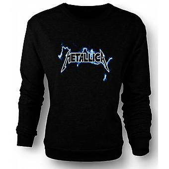 Womens Sweatshirt Metallica Logo - Rock Metal