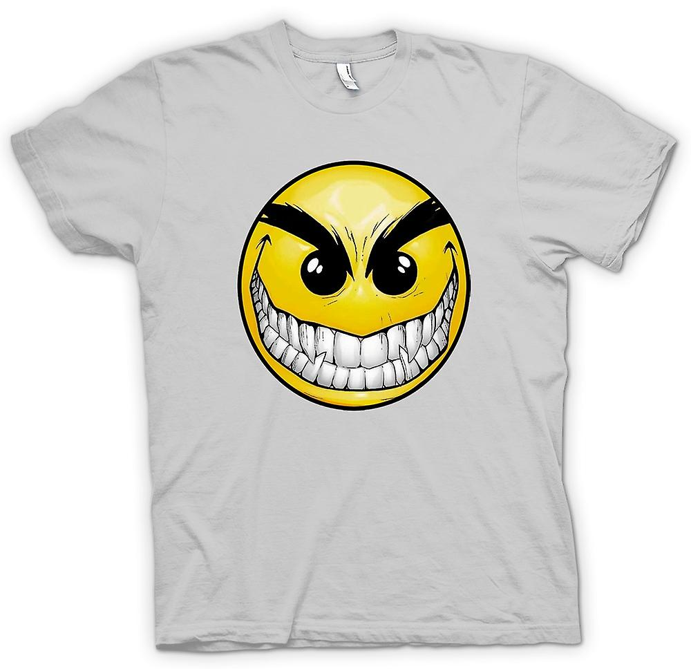 Mens t-skjorte-Smiley Face - tenner - Acid House