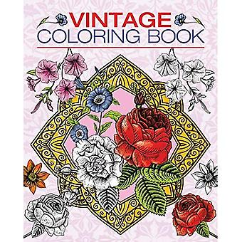Vintage Coloring Book (Arcturus Coloring Books)