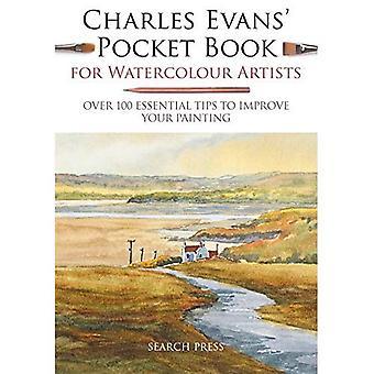 Charles Evans pocketboek voor aquarel kunstenaars
