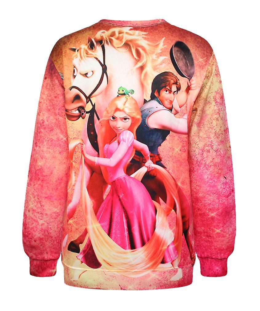 Waooh - Sweatshirt imprimé Raiponce Iorr
