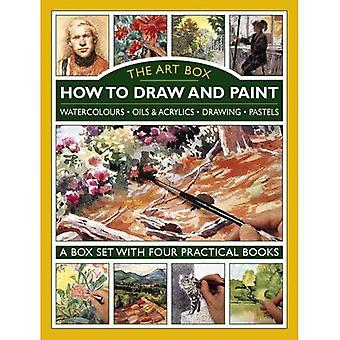 The Art Box - How to Draw and Paint: Watercolours * Oils & Acrylics * Drawing * Pastels