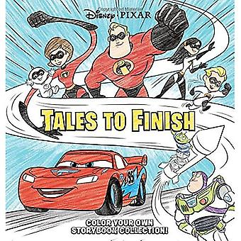 Disney*pixar Storybook Collection: Tales to Finish: Color Your Own Storybook Collection! (Disney*pixar Storybook Collection: Tales to Finish)
