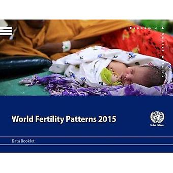 Wereld vruchtbaarheid patronen 2015: gegevens boekje