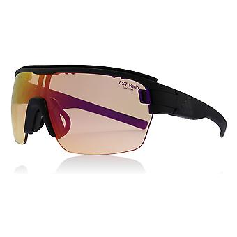 Adidas AD05 9100 Matte Black Zonyk Aero Pro S Visor Sunglasses Lens Category 2 Lens Mirrored Size 99mm