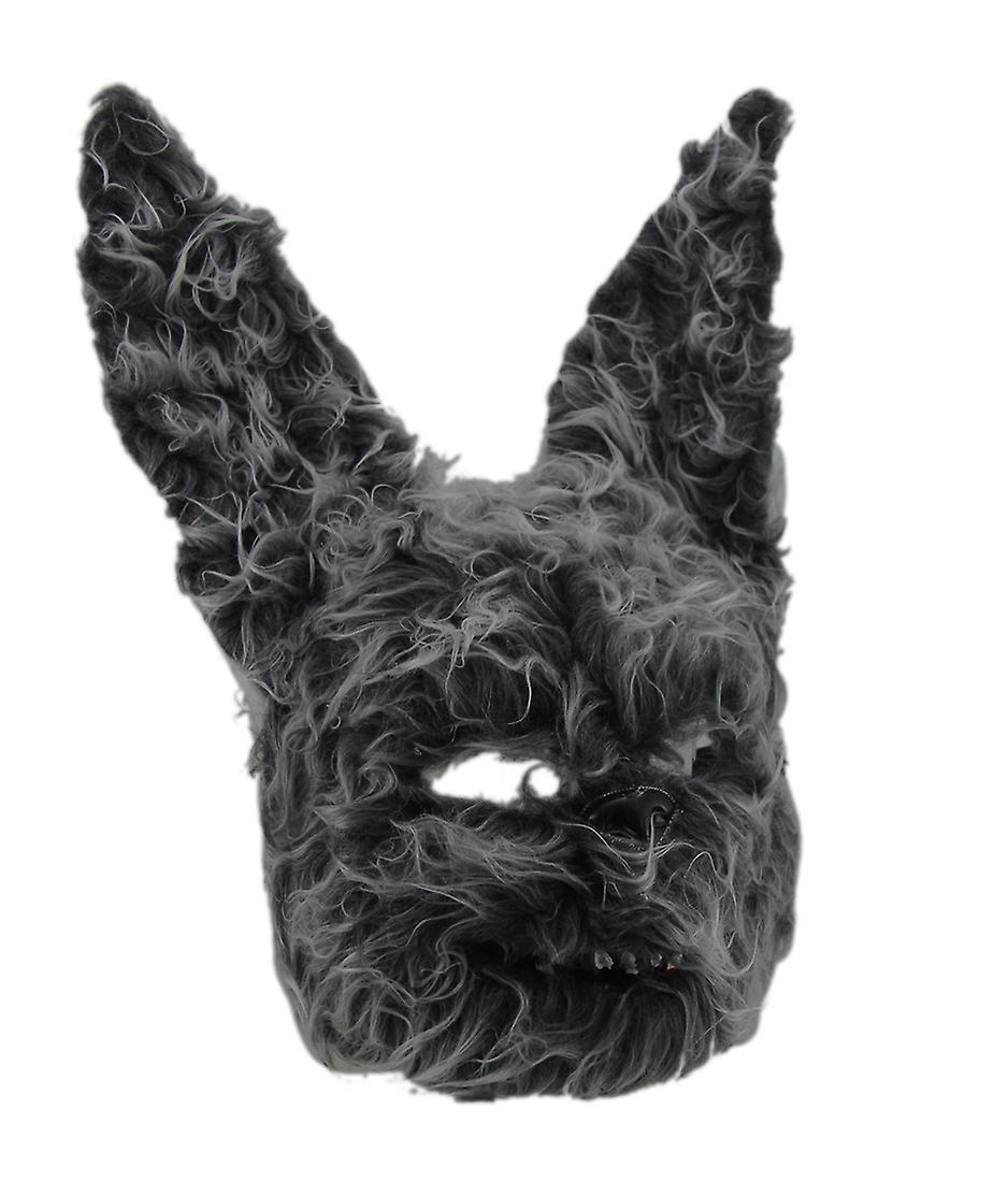 Behaarte beängstigend pelzigen Evil Bunny Hasenmaske