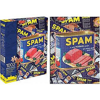 Spam 1000 piece jigsaw puzzle   (nm)