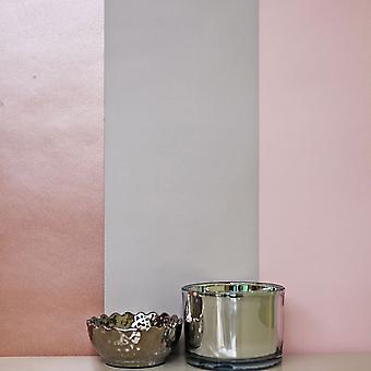 Streep behang luxe horizontale verticale Metallic Rose goud roze grijs Direct