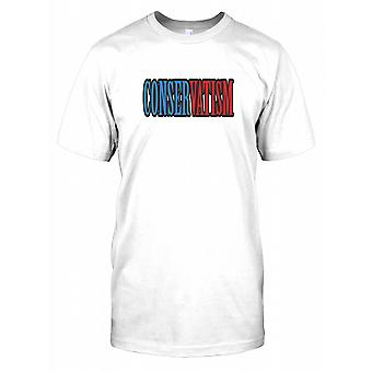 Conservatism - Political Kids T Shirt