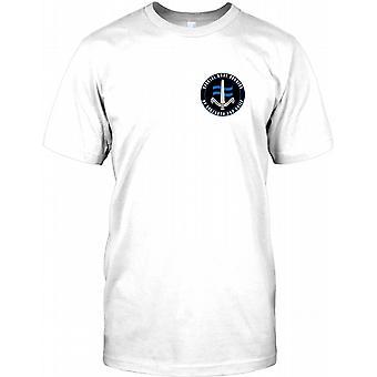 Special Boat Service - ved styrke og Guile - SBS brystet Logo børn T Shirt