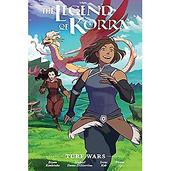 Legenden om Korra: Turf krig Library Edition