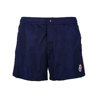 Moncler Blue Polyester Trunks
