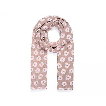 Intrigue Womens/Ladies Repeat Daisy Print Scarf