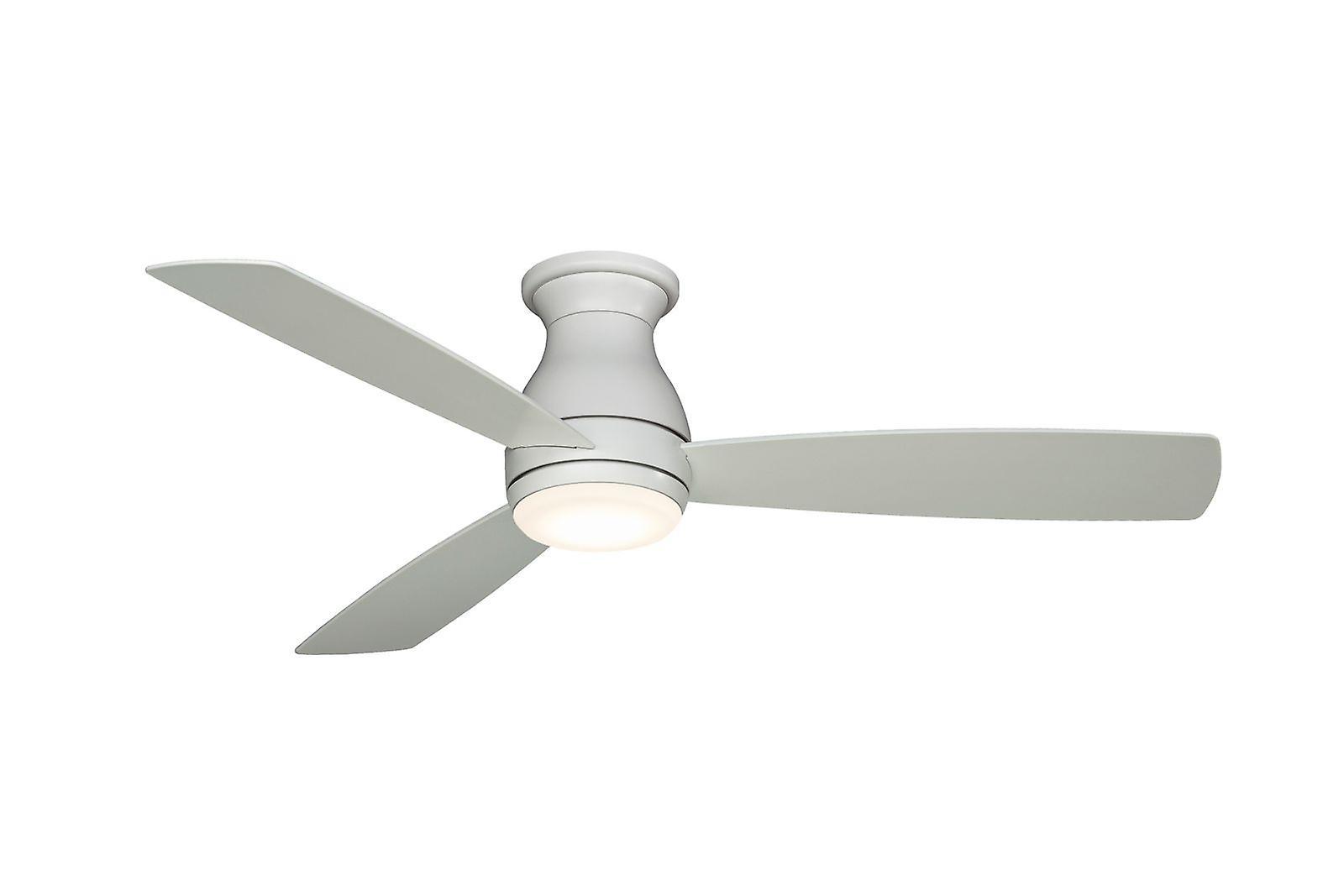 de plein air ceiling fan HUGH WET 112cm   44& 034; blanc with LED