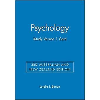 Psychology - Istudy Version 1 Card by Lorelle Jane Burton - 9780730305