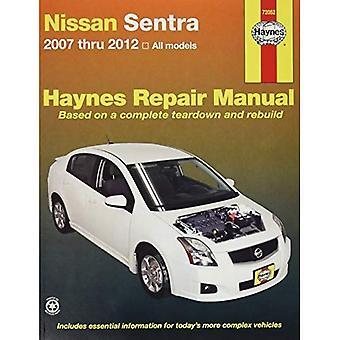 Nissan Sentra Automotive Repair Manual: 2007-2012 (Haynes Automotive Repair Manuals)