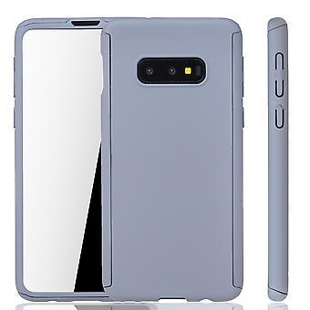 Samsung Galaxy S10e Phone Case Protection Case Full Cover Tank Protection Foil Grey Samsung Galaxy S10e Phone Case