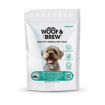 Woof & Brew alito fresco cane tonico - giorno 7 bustine di tè