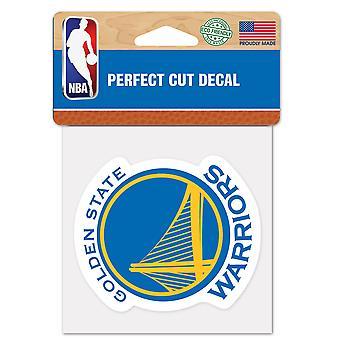 Wincraft Aufkleber 10x10cm - NBA Golden State Warriors