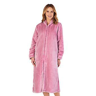Slenderella HC4340 Mujeres's Housecoats Mauve vestido rosa