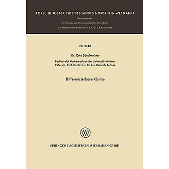Differenzierbare Rume par Schafmeister et Otto