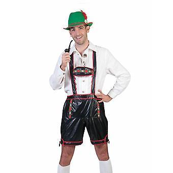 Tyrolean Costumes Pants Men's Costume Oktoberfest Pants Leather Pants Look Men's Costume