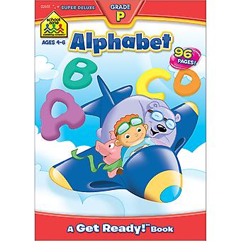 Super Deluxe Workbook-Alphabet SDWKBK-02651