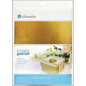 Silhouette Printable Adhesive Foil 8.5