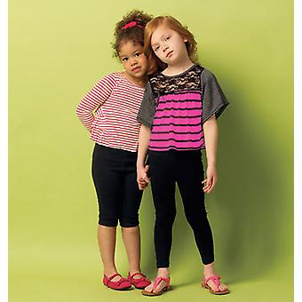 Children's Girls' Top And Leggings  2  3  4  5 Pattern B5913  Cdd