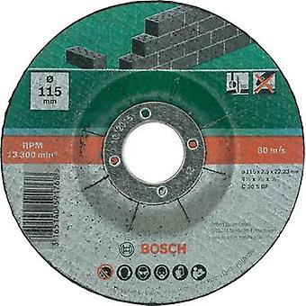 5-piece cutting disc set with depressed centre for stone Bosch Accessories 2609256334
