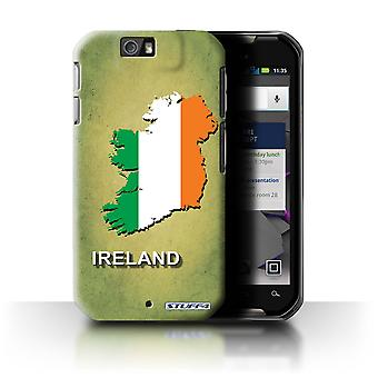 STUFF4 Case/Cover for Motorola IronRock/XT626/Ireland/Irish/Flag Nations