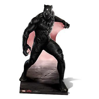 Black Panther Marvel Lifesize pap påklædningsdukke / Standee / står