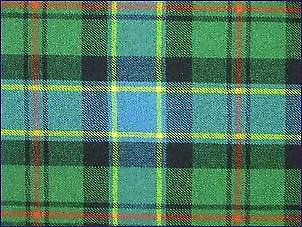 Ogilvie Hunting, Ancient - Pure Wool Tartan