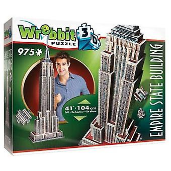 Jigsaw Puzzle Wrebbit Empire State building 3d: 975 Stück