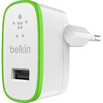 USB charger Mains socket Belkin F8J040vfWHT Max. output current 2400 mA 1 x USB