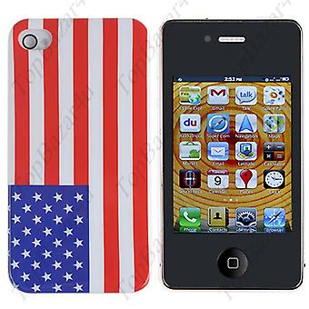 IPhone cover 4/4S-Flag USES