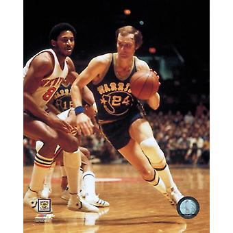 Rick Barry Action Photo Print