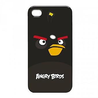Gear 4 Angry Birds mobile phone protective case for iPhone 4 / 4 S Black