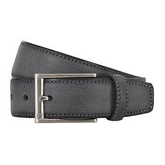 BRAX belts men's belts leather belt grey 4693