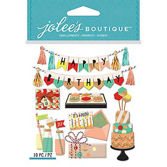 Jolee's Boutique Dimensional Stickers-Mod Happy Birthday E5021969